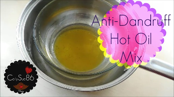 Anti-Dandruff Hot Oil Mix | Fall & Winter Hair Care.