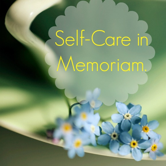 My Holiday Self-Care in Memoriam Journal.