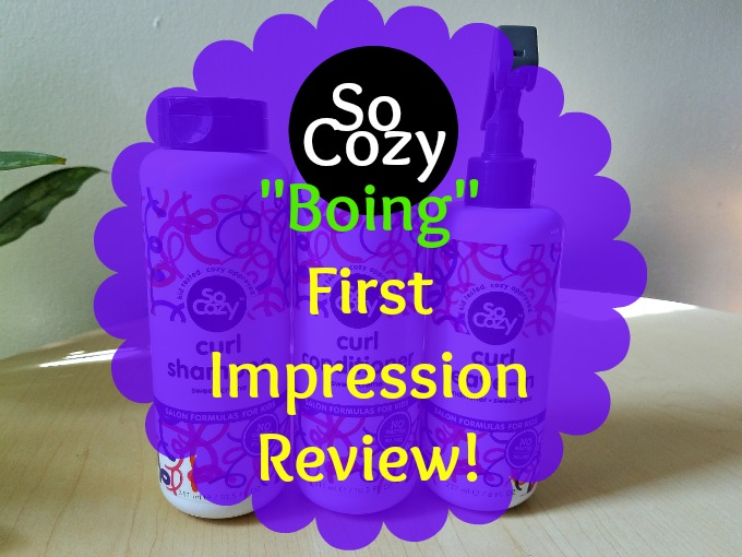 SoCozy Boing Curl. First Impression Review with Full Kid Wash Routine! Little Boys with Hair.