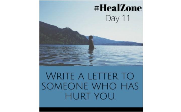 #HealZone Journal Prompt: DayEleven.