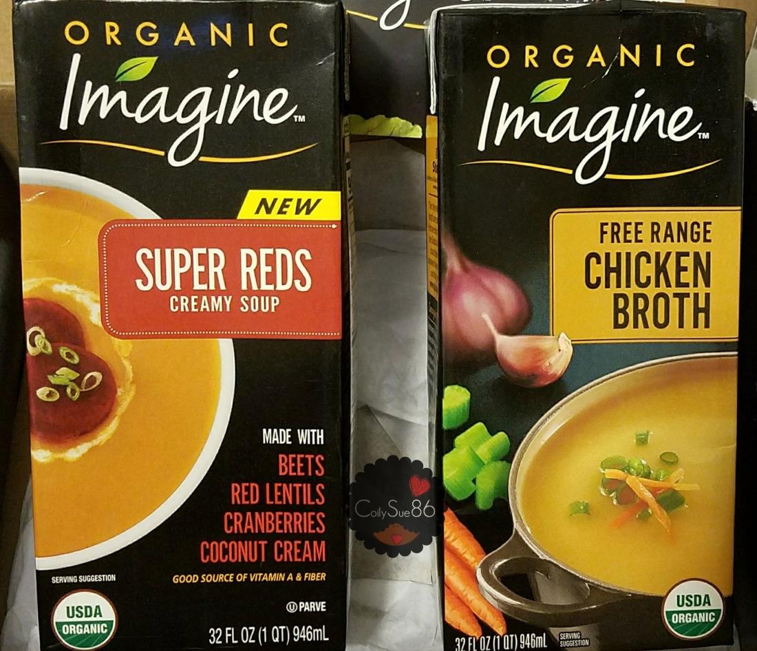 Influenster Random Review: Imagine Foods Organic Soups &Broths.