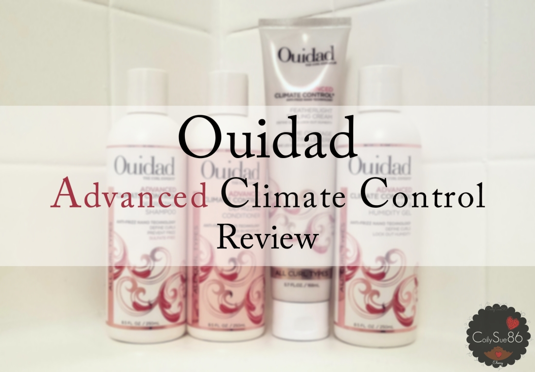 #Ouidad Advanced Climate Control Line: Does It Work on KinkyCurls?