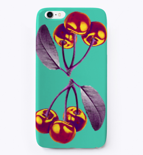 Spiked Cherry iPhone Case